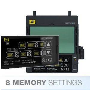 Sentinel A50 Review LCD 8 Memory Settings